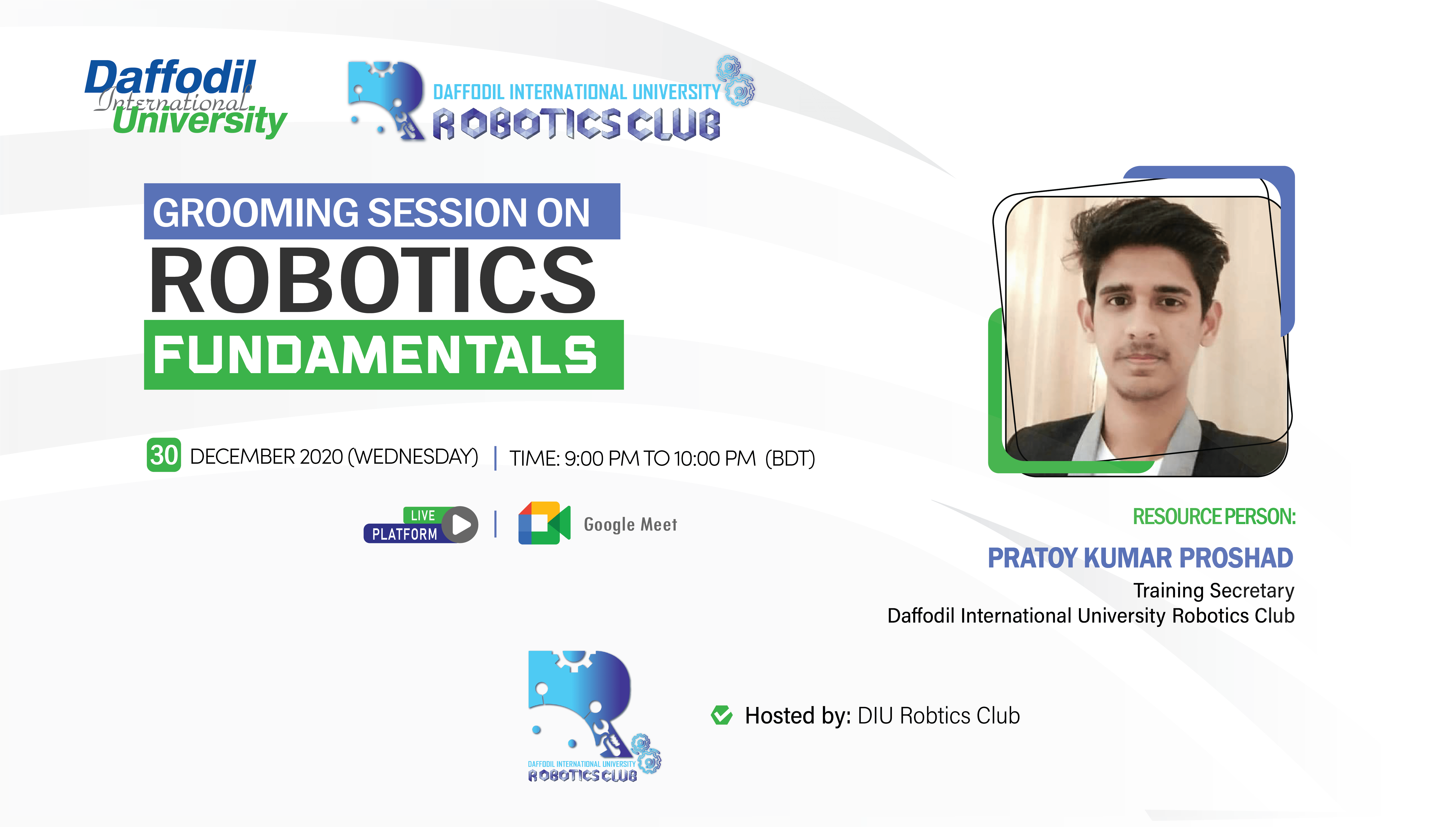 Grooming Sessions On Robotics...