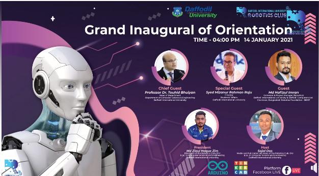 Grand Inaugural of Orientation